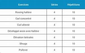 Programme De Musculation A La Maison. programme musculation d butant ... 9addd173bfb