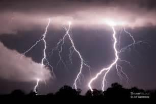 Beach Storm Clouds Lightning