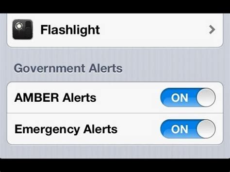 iphone emergency alerts iphone how to turn on alerts emergency