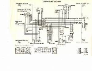 1977 Ct70 Wiring Diagram