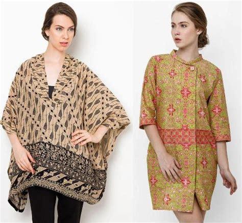 baju kerja batik wanita modern dan nyaman