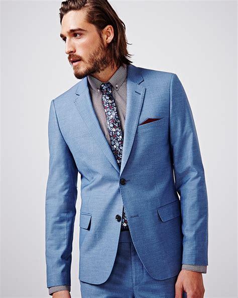 mens light blue blazer slim fit light blue blazer regular rw co