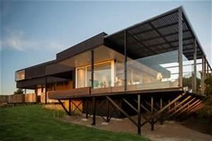 maison sur pilotis construire tendance With maison contemporaine sur pilotis