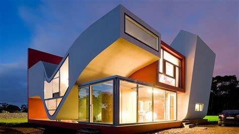 S Shaped Home Design : The Futuristic House On The Flights Of Birds In Sao Miguel