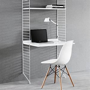 Etagere De Bureau : bureau tag res blanc blanc string furniture design adulte ~ Teatrodelosmanantiales.com Idées de Décoration