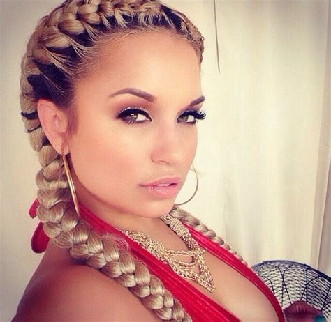 10 crazy two goddess braids with weave ideas to look at