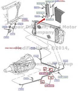 Brand New Transmission Oil Cooler Line Tube 2004 Ford F150