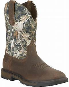 ariat groundbreaker camo work boots steel toe sheplers With ariat work boots coupons