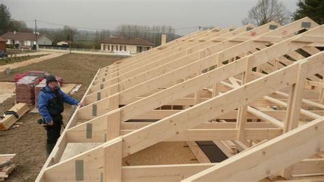 r 233 alisation platelage et pose 233 cran de sous toiture autoconstruction maison en ossature bois