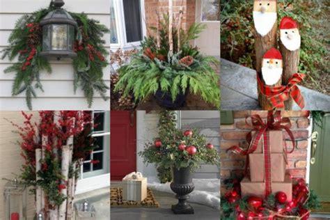Für Draußen by H 252 Bsche Weihnachtliche Diy Dekorationen F 252 R Drau 223 En