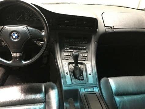 1992 Bmw 8-series 850i With 6-speed Manual Transmission