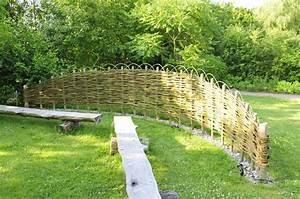 Weidenruten Zum Pflanzen Kaufen : sichtschutz selber bauen 5 diys aus naturmaterial ~ Lizthompson.info Haus und Dekorationen