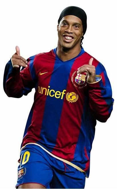 Ronaldinho Barcelona Brazil Milan Fc Football Player