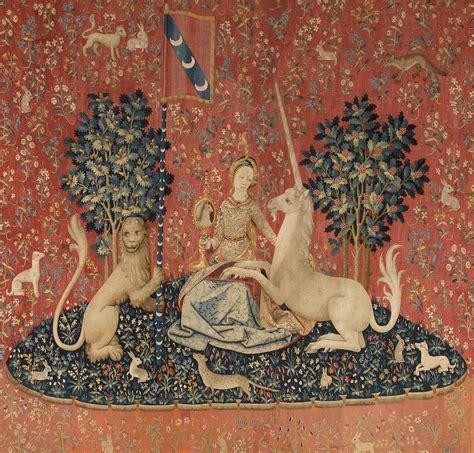 Tapisserie Dame à La Licorne by La Dame 224 La Licorne