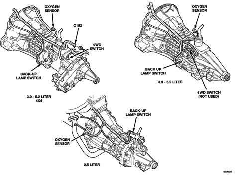 1998 Dodge Up Wiring Diagram by 1992 Dodge Dakota Cooling System Diagram Auto Engine And