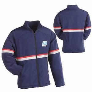medium weight fleece jacket liner With letter carrier jacket