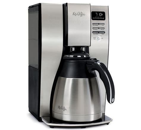 Coffee barista espresso maker boasts a luxurious design with stainless steel body. Top 10 Mr Coffee Coffee Makers Reviews 2020 - Best Cookware Sets - Reviews and Cookware Brands Guide