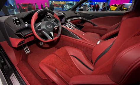 Acura Shows Off Updated Nsx Concept With Interior