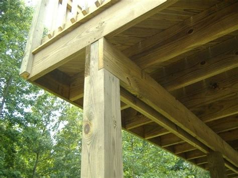 decks splicing  long deck beam span mid span shaker