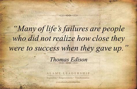 al inspiring quote  persistence alame leadership