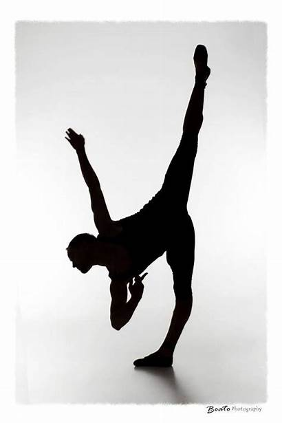 Dancer Silhouette Contemporary Clip Clipart Dance Ballet