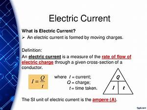 Exp SPA - Chp 17 Current of Electricity