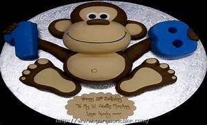 17 best ideas about monkey template on pinterest monkey With monkey birthday cake template