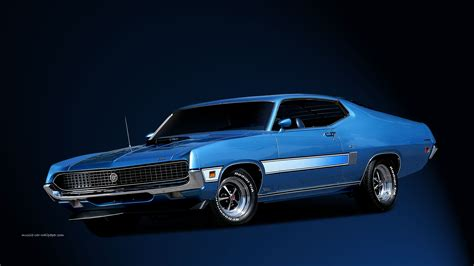 1967 Ford Mustang Muscle Car Wallpaper
