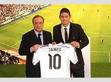 PIC James Rodriguez handed the No10 shirt for Real