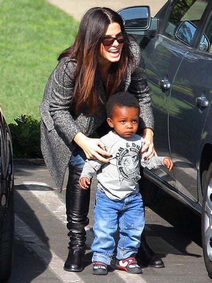 Sandra Bullock Adopted Children