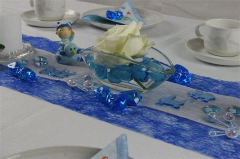 Tischdeko Grün Blau by Tischdeko Geburt Taufe Blau Tischdeko Taufe