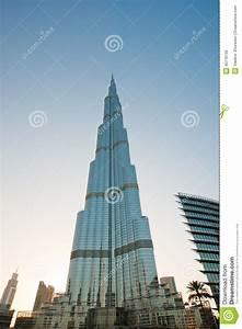 Burj Khalifa (torre) De Khalifa, Dubai Foto de archivo
