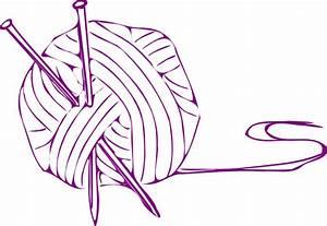Yarn Ball Purple Small Clip Art at Clker.com - vector clip ...