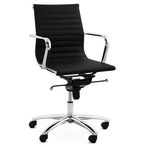 fauteuil bureau design fauteuil de bureau design mega en similicuir noir
