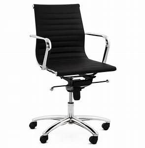 fauteuil de bureau design mega en similicuir noir With fauteuil design bureau
