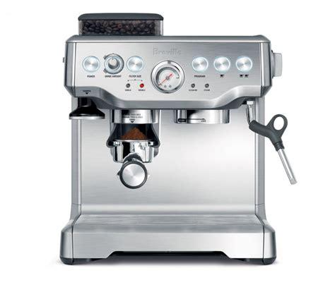 best espresso machine breville bes860xl barista express espresso machine with grinder the best semi automatic pump