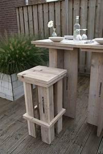 Mobilier Jardin Bois : mobilier de jardin en palette bois maison design ~ Premium-room.com Idées de Décoration