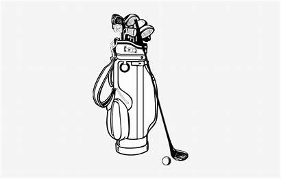Drawing Golf Clubs Freeuse Getdrawings Library Pngkit