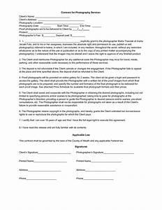 photography contract template lisamaurodesign With photographer contracts templates