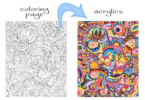 abstract coloring pages art is fun