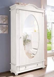Weißer Spiegel Vintage : home affaire garderobenschrank florenz mit spiegel online kaufen otto ~ Markanthonyermac.com Haus und Dekorationen