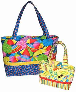 Pdf Bag Pattern Sew Simple Tote Bag In 2 Sizes Instant