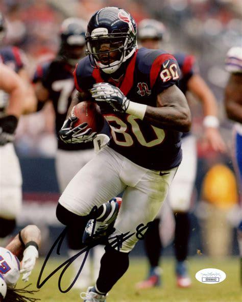 Andre Johnson Signed Texans 8x10 Photo (JSA COA ...