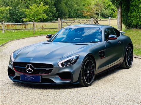 It is equipped with a 7 speed automatic transmission. Used Matt Grey Mercedes AMG GT For Sale | Surrey
