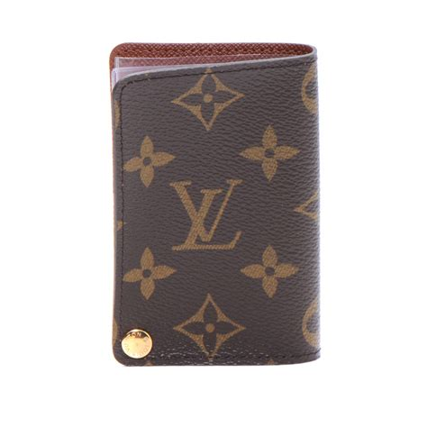 louis vuitton monogram porte cartes credit pression 48799