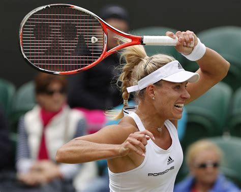 Angelique kerber is a german professional tennis player. Angelique Kerber - Wimbledon Tennis Championships in ...