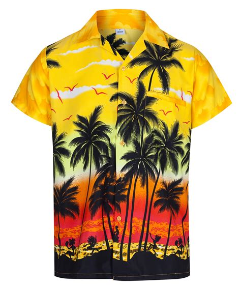 themed shirts mens hawaiian shirt aloha hawaii themed party shirt