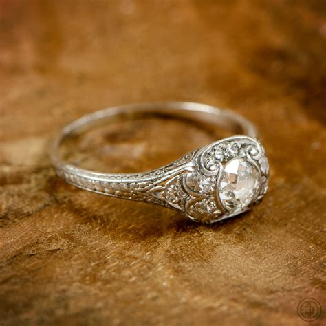 our antique engagement rings estate jewelry