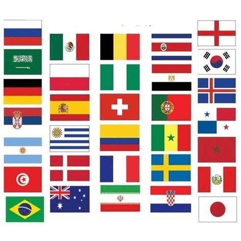 kit  drapeaux coupe du monde de football  xcm