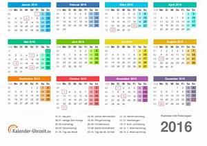 Kalender Zum Ausdrucken 2016 : kalender 2016 zum ausdrucken kostenlos ~ Whattoseeinmadrid.com Haus und Dekorationen